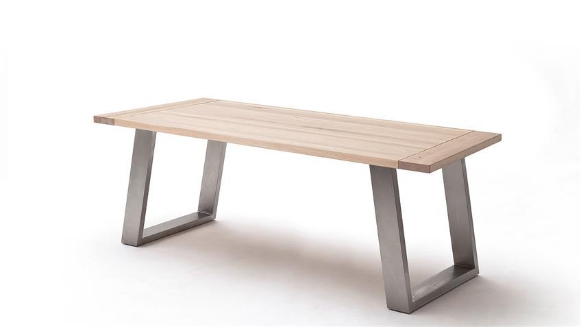 Esstisch 2 ALMEIDA Tischsystem Eiche Bainco massiv 180