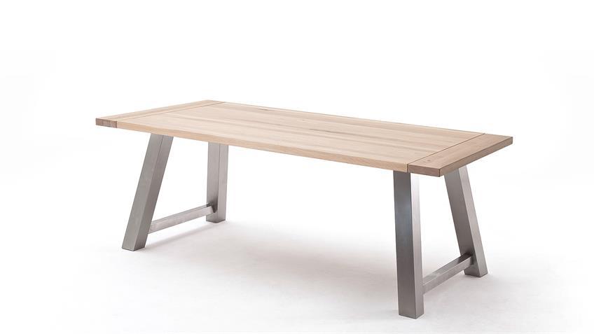 Esstisch 3 ALMEIDA Tischsystem Eiche Bainco massiv 180
