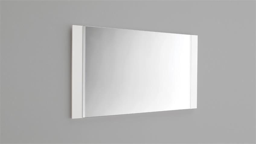 Spiegel ROMINA Wandspiegel in weiß matt Lack 90 cm