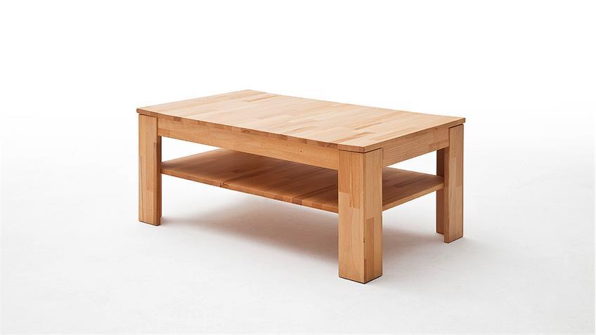 Couchtisch FRITZ Tisch Wohnzimmertisch in Kernbuche massiv