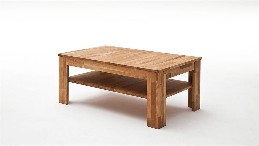 Couchtisch FRITZ Tisch Wohnzimmertisch in Wildeiche massiv