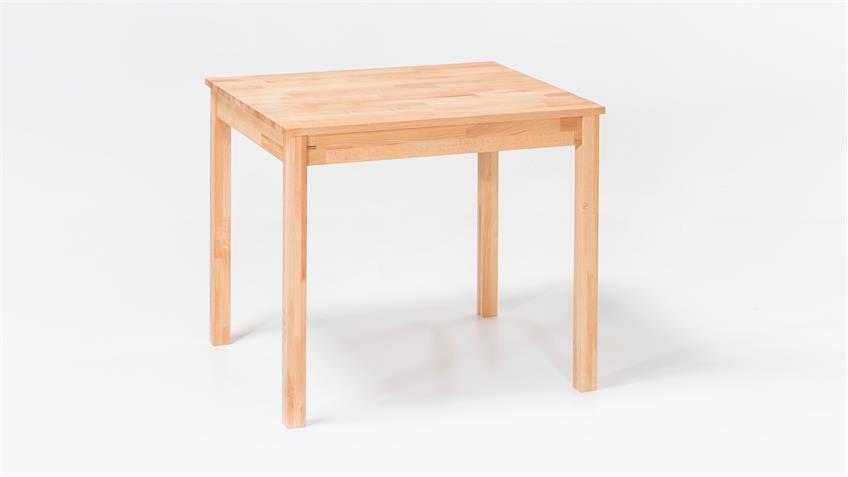 esstisch alfons tisch in kernbuche massiv ge lt 50x70 cm. Black Bedroom Furniture Sets. Home Design Ideas