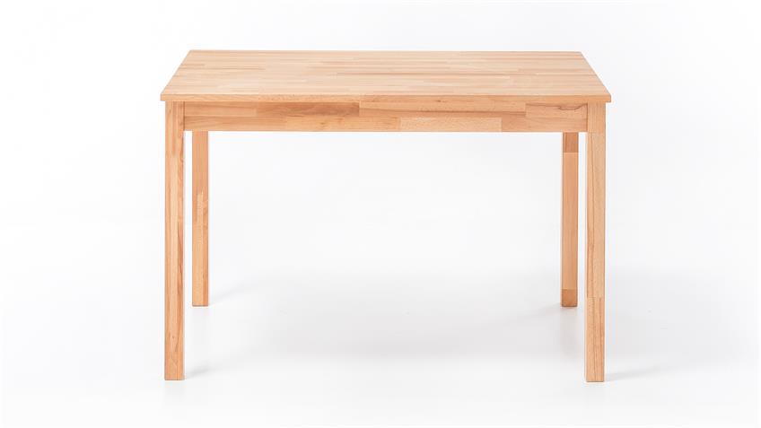 Esstisch ALFONS Tisch in Kernbuche massiv geölt 110x70 cm