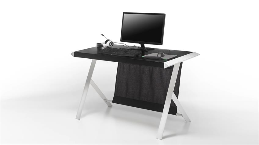 schreibtisch mcracing computertisch b rotisch in matt. Black Bedroom Furniture Sets. Home Design Ideas