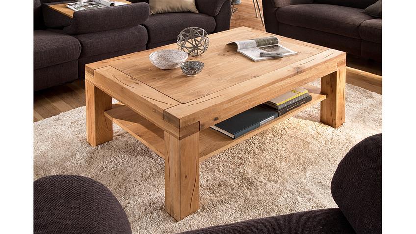couchtisch alisa beistelltisch wohnzimmertisch in wildeiche massiv 120. Black Bedroom Furniture Sets. Home Design Ideas