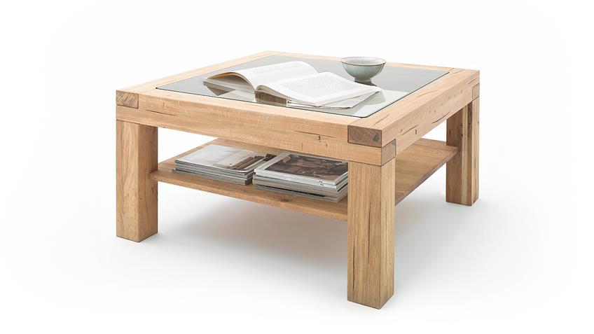 couchtisch alec wohnzimmertisch beistelltisch wildeiche massiv 95x95. Black Bedroom Furniture Sets. Home Design Ideas