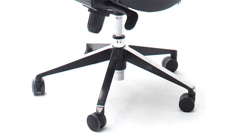 Bürosessel Drehsessel Karen Chefsessel Bürostuhl in schwarz