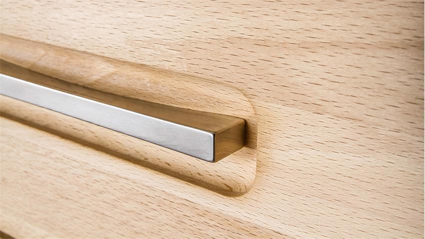 TV-Board FENJA in Kernbuche massiv geölt 155 cm breit