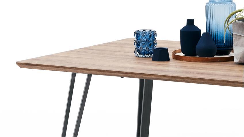 Esstisch CORDOBA Tisch Esszimmertisch Küchentisch MDF Wildeiche 160x90
