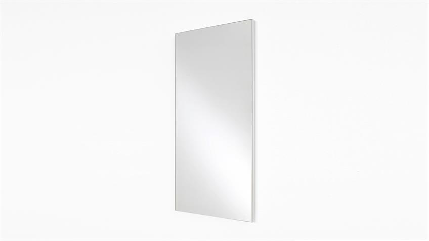 Garderobenspiegel MARLISA 45x96 Spiegel Wandspiegel Flurspiegel weiß