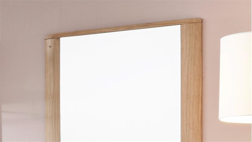 Garderobenspiegel NILO Spiegel Wandspiegel Balkeneiche Bianco massiv