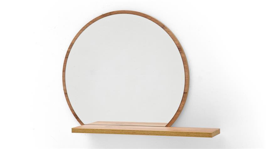 Garderobenspiegel GRANADA Spiegel Wandspiegel Flurspiegel Eiche 65x56