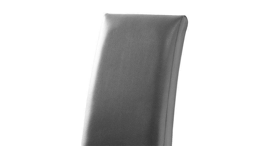 Esszimmerstuhl FOXI Stuhl 2er-Set grau Eiche Sonoma massiv