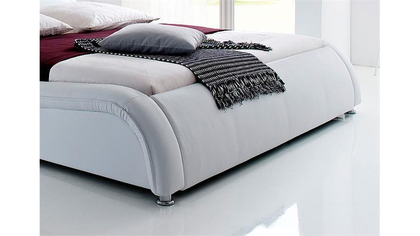 Polsterbett SOMA Designer Polsterbett in weiß 180 x 200