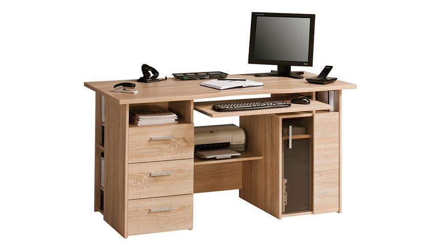 Schreibtisch Maja 4052 Computertisch in Sonoma Eiche