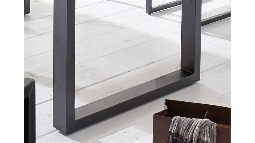 Esstisch MIAMI BEACH Eiche massiv geölt Eisen 200x100 cm