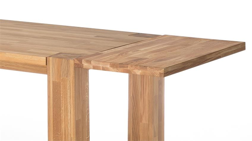 Esstisch BIG OAK in Wildeiche massiv geölt 160x90 cm