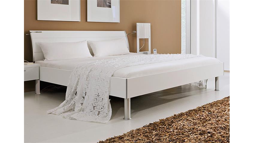 Bett FARGO von Nolte Doppelbett in weiß Dekor 180x200 cm