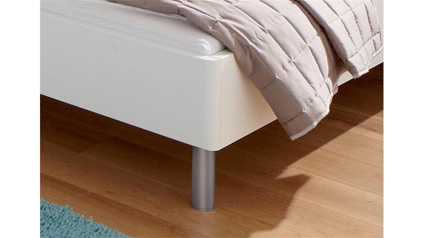 Bett SONYO von Nolte Polarweiß Sand 180x200 cm