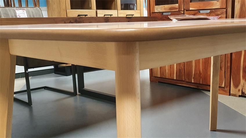 Esstisch Soho Bootsform Buche natur Küchentisch 160 x 90 cm