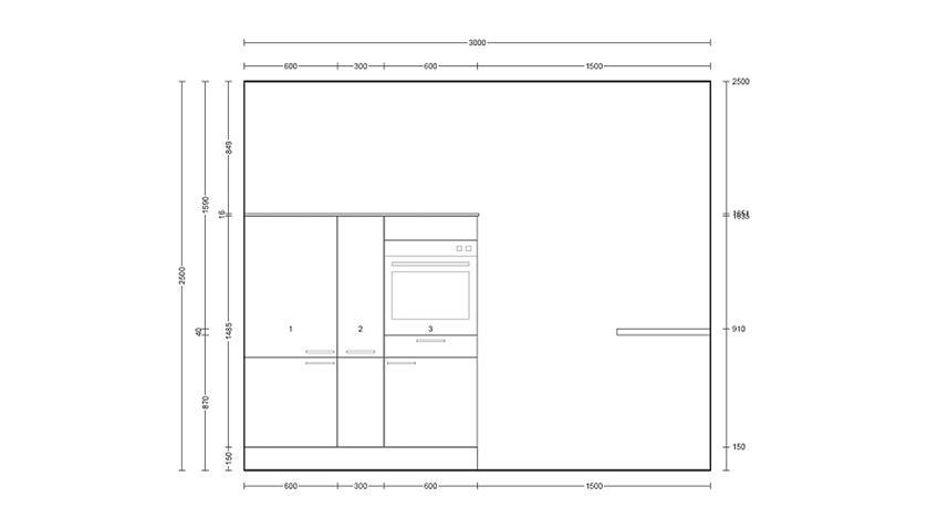 Nobilia Einbauküche, L-Küche inkl. E-Geräte und Geschirrspüler - 382