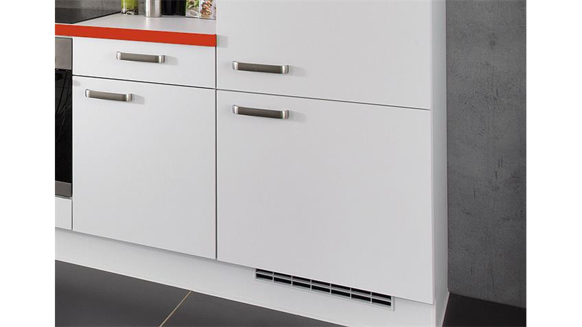 Nobilia Einbauküche Küchenzeile inkl. E-Geräte - 529