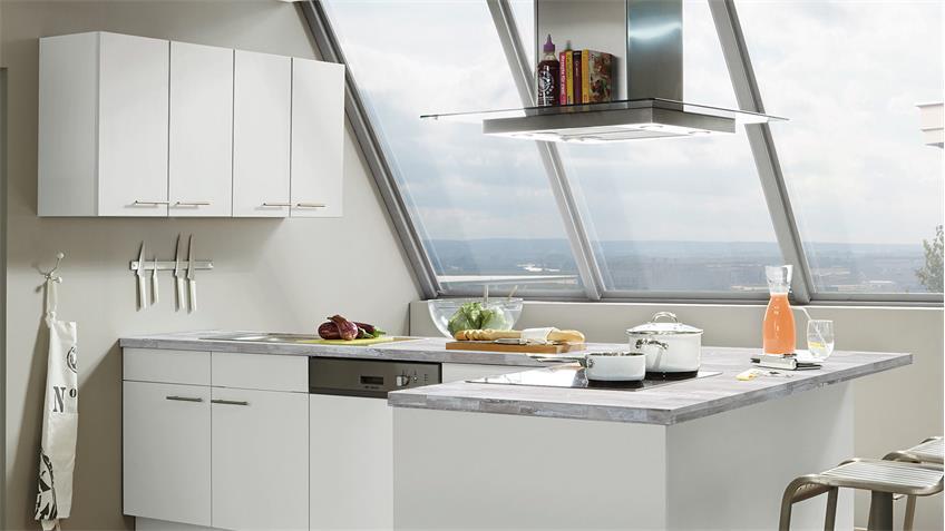 Nobilia Einbauküche L-Küche inkl. E-Geräte - 699