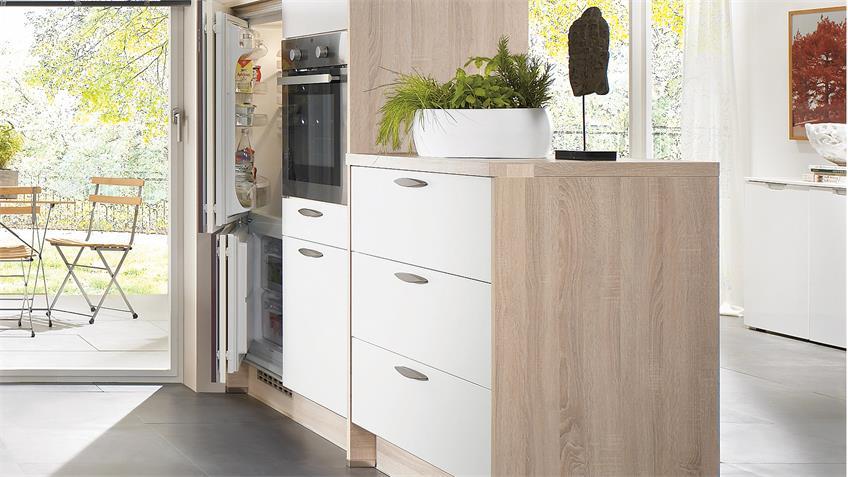 Nobilia Einbauküche L-Küche inkl. E-Geräte - 361