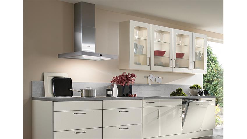 Nobilia Einbauküche Küchenzeile inkl. E-Geräte - 583