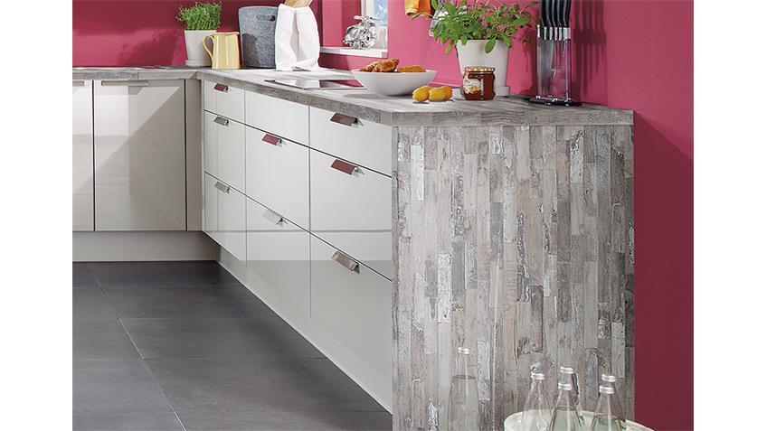 Einbauküche L-Küche inkl. E-Geräte - 547
