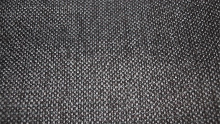 Ecksofa ELENOR Stoff dunkelgrau mit Nosagfederung 339x222