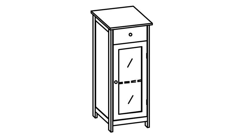 kommode wei mit glas inspirierendes design. Black Bedroom Furniture Sets. Home Design Ideas