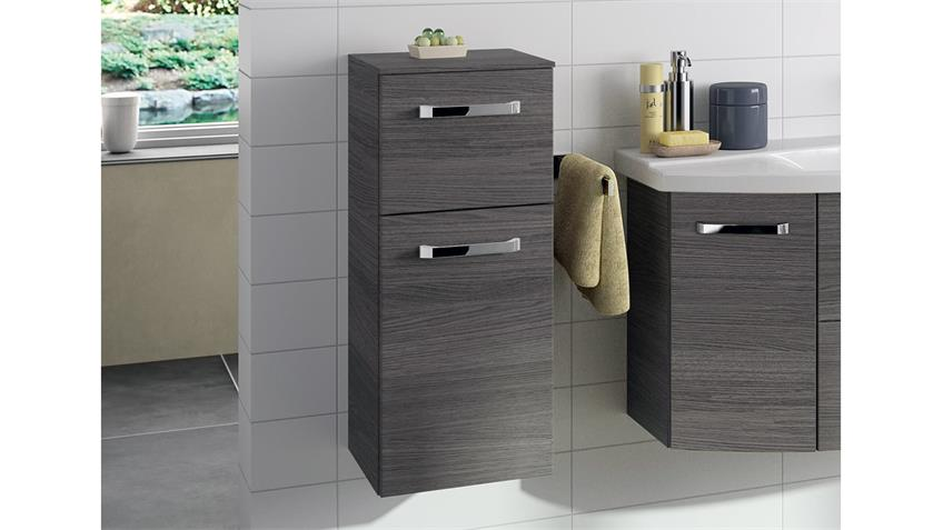 pelipal kommode fokus badm bel schrank 1 t rig in graphit struktur. Black Bedroom Furniture Sets. Home Design Ideas