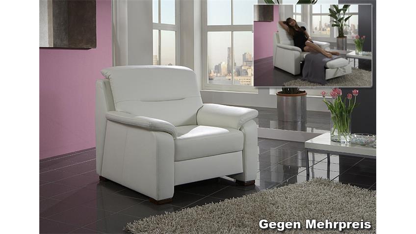 Ecksofa MEMPHIS Eckgarnitur Wohnlandschaft Sofa in weiß