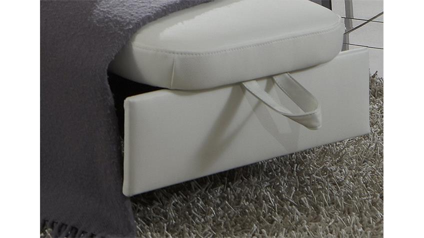 Sessel MEMPHIS TV Sessel Fernsehsessel Relaxsessel in weiß