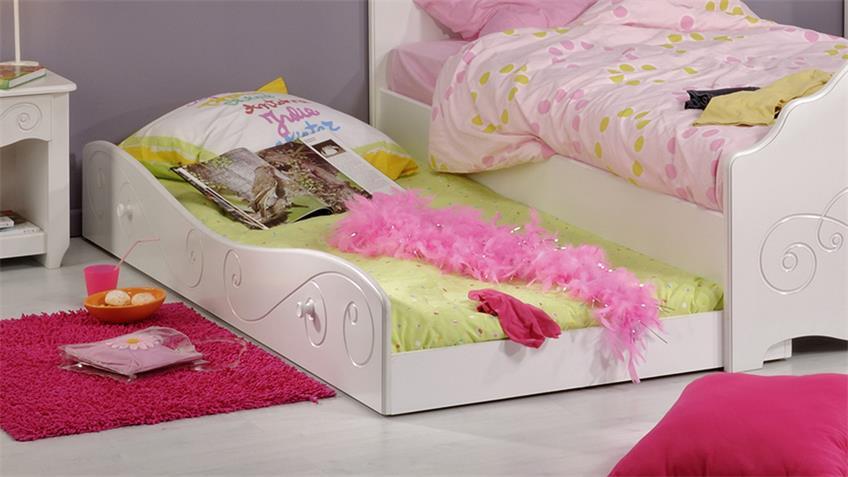 Bettschubkasten FRESH Bettkasten Liegefläche weiß lackiert