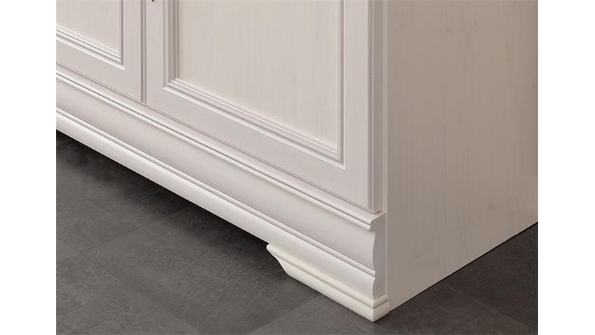 Sideboard ELISE Kommode Anrichte in Kiefer weiß 110 cm