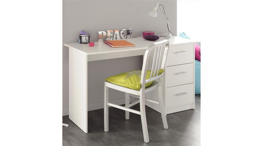 Schreibtisch INFINITY weiß Kinder- und Jugendzimmer