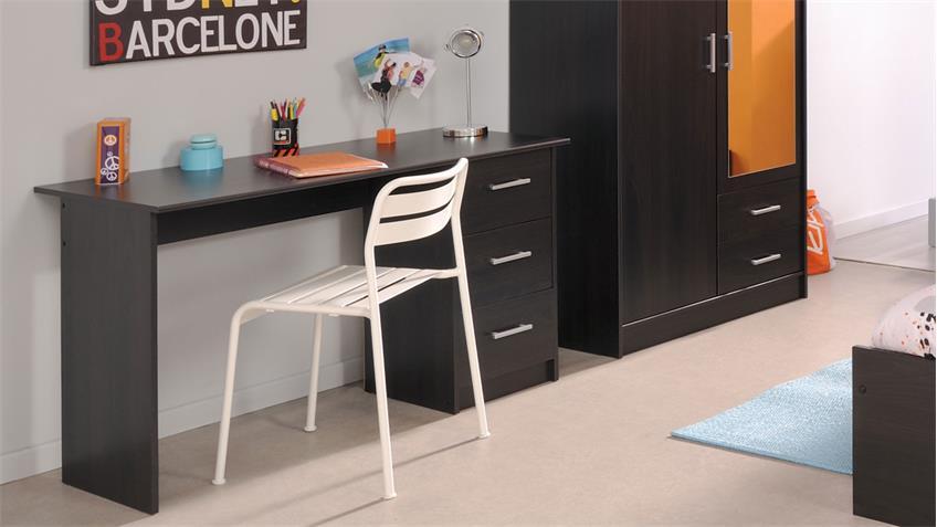 Schreibtisch INFINITY Kaffee braun Kinder- und Jugendzimmer