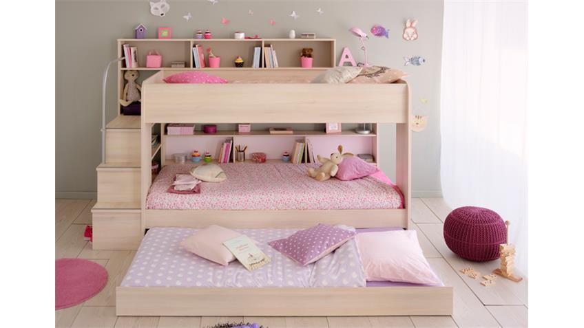 Bettschubkasten BIBOP in Akazie Dekor für Etagenbett