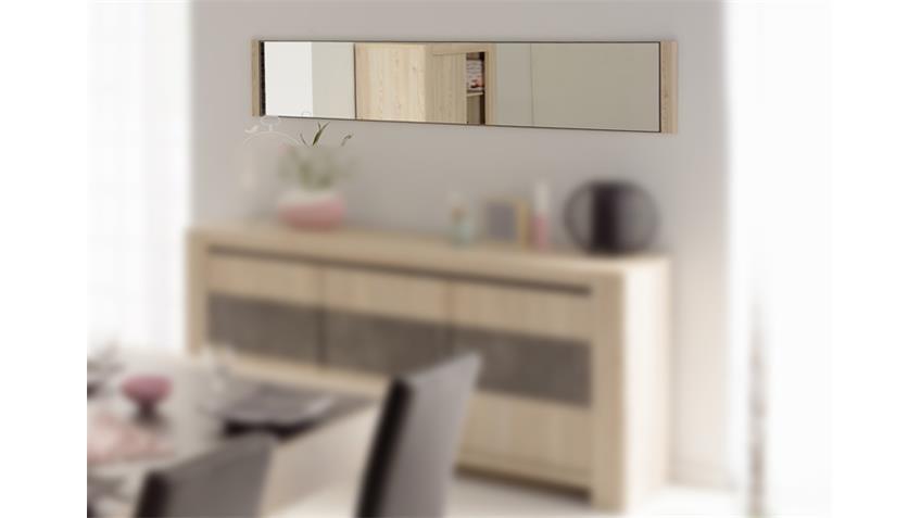 Wandspiegel CHRIS Rahmen Eiche Dekor 181x35 cm