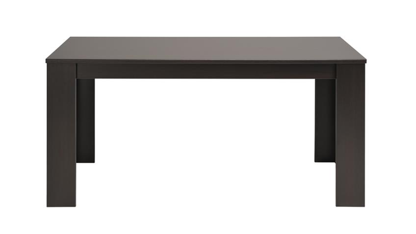 Esstisch KARAN 2 Tisch Küchentisch in Kaffee 160 cm