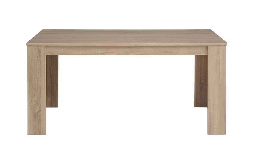 Esstisch KARAN 3 in Eiche Sonoma Tisch 160 cm