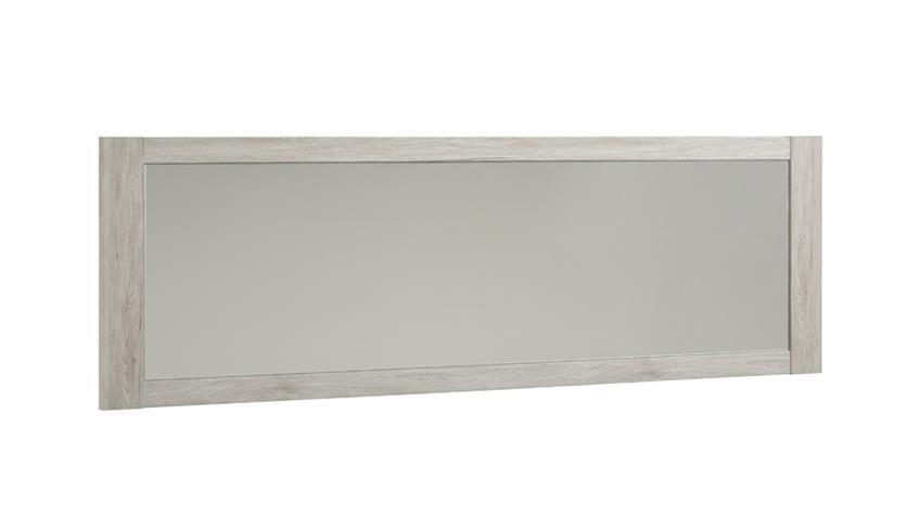 Wandspiegel MALONE 25 Rahmen Portofino grau 198x62