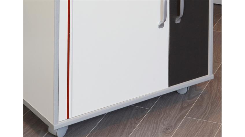 Mehrzweckschrank BISTROT 4 Küchenschrank Sideboard weiß