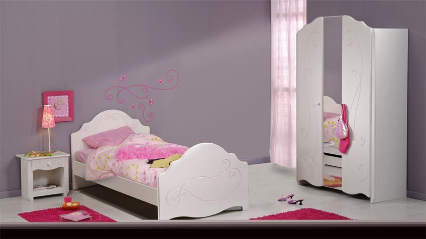 Kinderzimmer FRESH Jugendzimmer in weiß lackiert