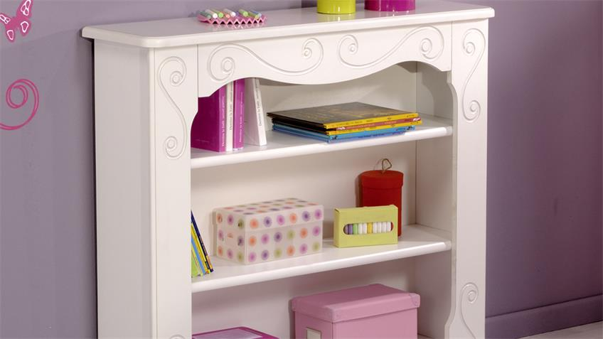 Regal FRESH Bücherregal Wandregal in weiß lackiert