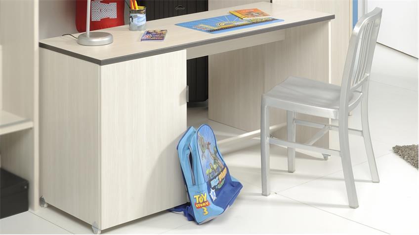 Schreibtisch Gravity 4 in Esche Struktur