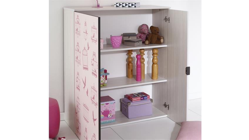 Kinderzimmer GRAVITY 14 Esche Struktur mit Etagenbett