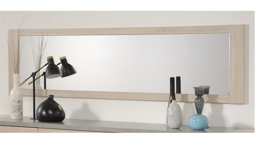 Wandspiegel GOSPEL 38 in Eiche Sesam 180x90 cm